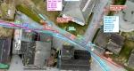 Ausschnitt Orthophoto mit Werkleitungen