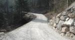 Neuer Maschinenweg Aeschenwald.