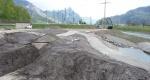 Einmündungsbereich der Maag kurz vor Abschluss der Arbeiten im April 2011.