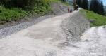 Abzweigung neue Strasse